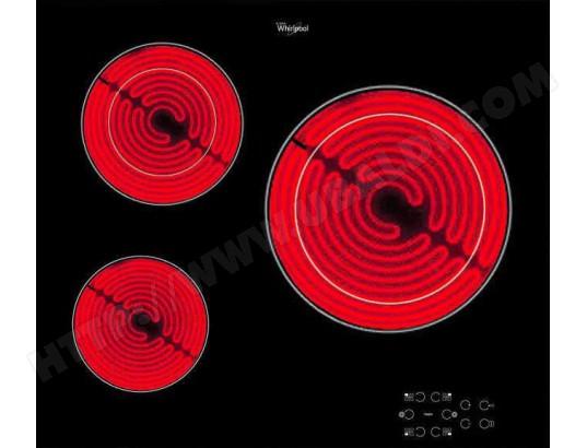 whirlpool akt8030ne plaque vitroceramique pas cher. Black Bedroom Furniture Sets. Home Design Ideas