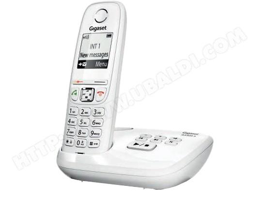 Téléphone sans fil SIEMENS GIGASET AS405A blanc