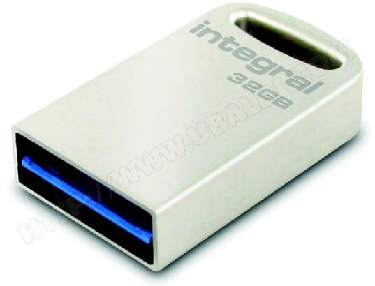 Mini clé USB INTEGRAL Métal Fusion USB 3.0 - 32 Go