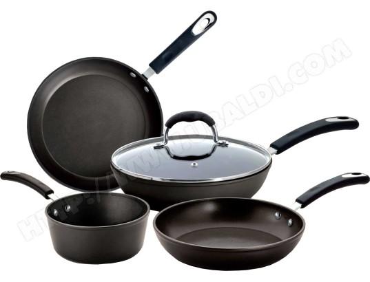 Set poêles et casseroles BIALETTI 0 C 0 SET03 Set 5 pièces Impact Plus
