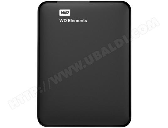 Disque dur externe WESTERN DIGITAL Elements portable 500 Go noir USB 3.0