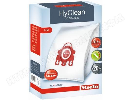 Accessoire aspirateur MIELE Pochette 4 Sacs FJM HyClean 3D