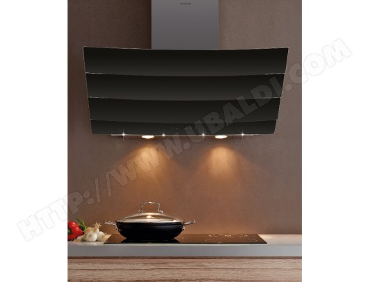 silverline city 90 noire pas cher hotte decorative. Black Bedroom Furniture Sets. Home Design Ideas