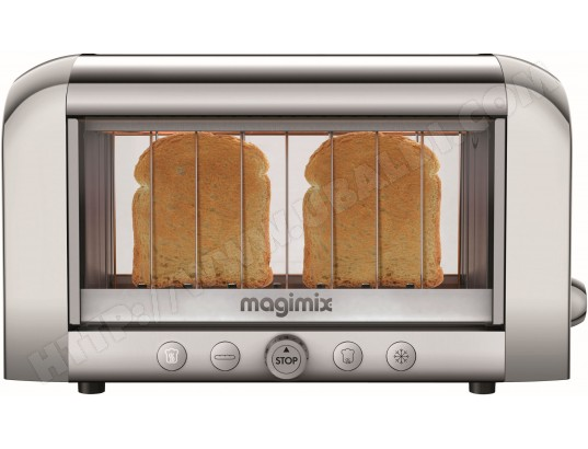Grille pain MAGIMIX 11534 Toaster Vision brillant