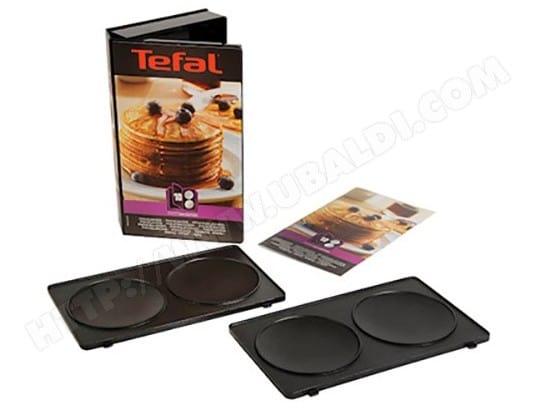Plaque gaufrier TEFAL XA801012 Coffret plaques pancake + livre recette