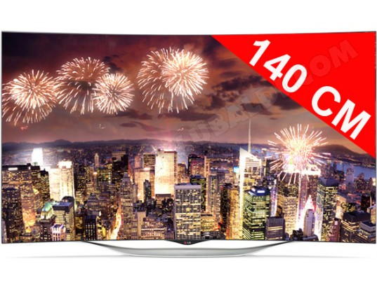 avis tv oled full hd incurv 3d 140 cm lg 55ec930v test critique et note. Black Bedroom Furniture Sets. Home Design Ideas