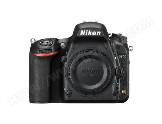 Appareil photo numérique reflex NIKON D750 boitier nu