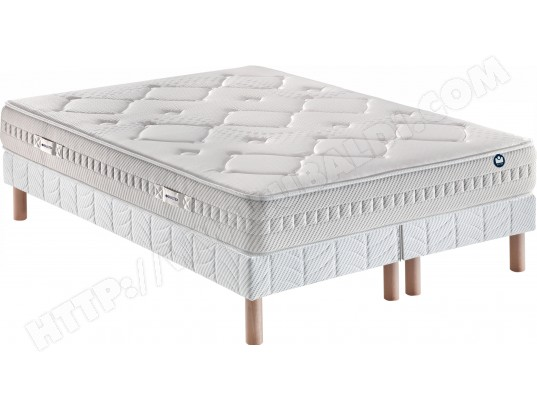 ensemble matelas sommier 160 x 200 bultex lit i novo 930. Black Bedroom Furniture Sets. Home Design Ideas
