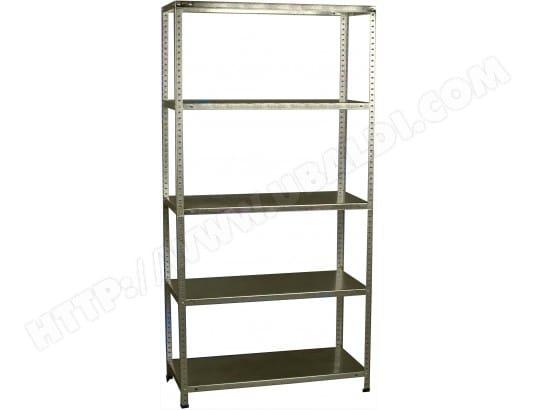 etag re ar shelving etag re m tallique bricol 40 galva pas cher. Black Bedroom Furniture Sets. Home Design Ideas