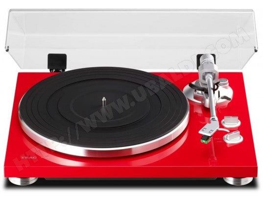 Platine disque TEAC TN-300-R Rouge