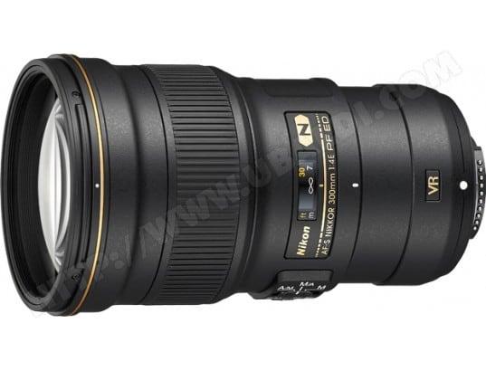 Objectif Reflex NIKON AF-S NIKKOR 300mm f/4E PF ED VR