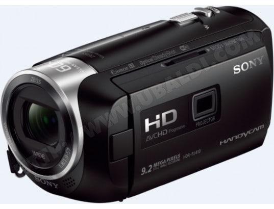 Caméscope carte mémoire SONY HandyCam HDR-PJ410B