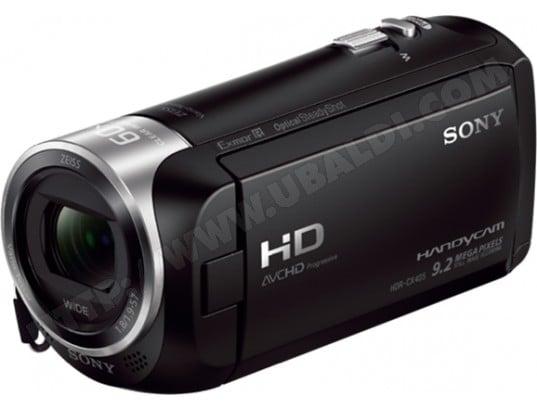Caméscope carte mémoire SONY HandyCam HDR-CX405B