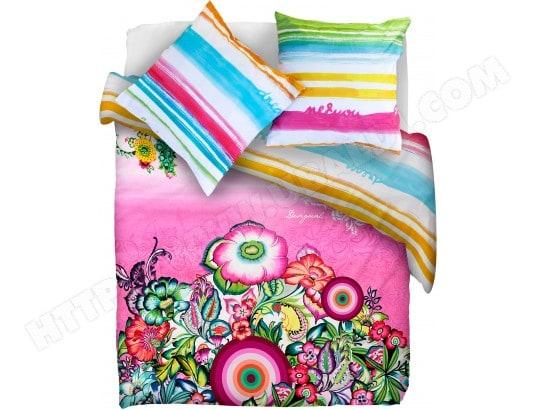 linge de lit desigual pas cher Parure de lit housse de couette DESIGUAL Parure Cadaques hdc  linge de lit desigual pas cher