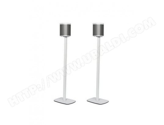 Pied de sol FLEXSON Fixation SONOS PLAY:1 Floorstand - Blanc (Pair)