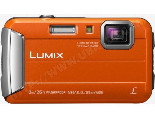 Appareil photo numérique compact PANASONIC Lumix DMC-FT30 orange