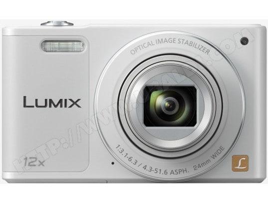 Appareil photo numérique compact PANASONIC Lumix DMC-SZ10 blanc