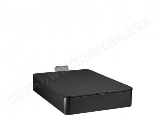 Sommier 140 x 190 MERINOS Lit Coffre IN OUT 140x190 noir