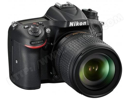 Appareil photo numérique reflex NIKON D7200 + AF-S DX 18-105mm VR