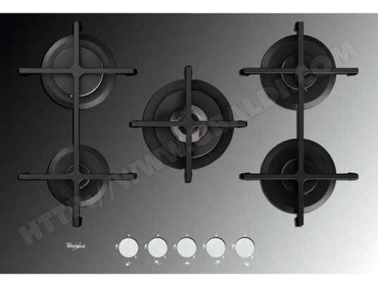whirlpool akt8000mr plaque gaz pas cher. Black Bedroom Furniture Sets. Home Design Ideas