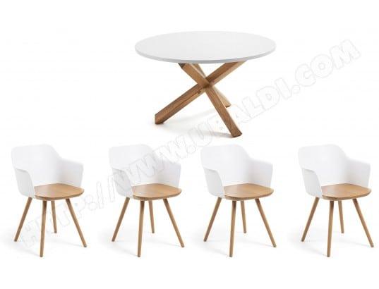 Ensemble Table Et Chaises LF Ensemble Table Nori Chaises Klam Pas