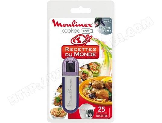 MOULINEX 2 clés USB pour Robot Cookeo Pas Cher , Accessoire mijoteur ,  Livraison Gratuite