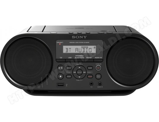 Radio CD SONY ZS-RS60BT