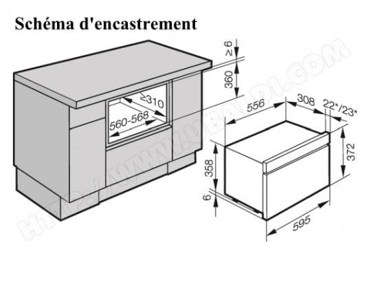 four encastrable taille. Black Bedroom Furniture Sets. Home Design Ideas