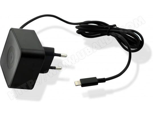 Chargeur secteur MUVIT Chargeur secteur 1,2m Apple lightning MFI 2,4A