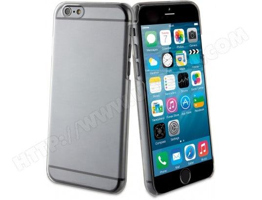 Coque iPhone MUVIT Coque Clearback transparente pour iPhone 6 et 6S