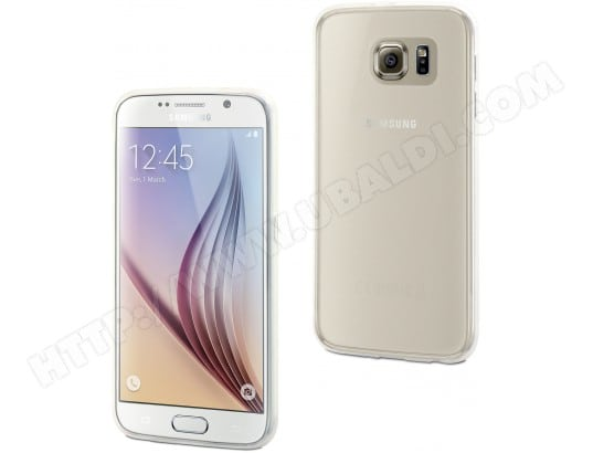 Coque smartphone MUVIT Coque ThinGel glossy transparent pour Galaxy S6
