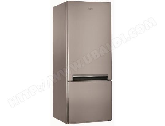 Réfrigérateur congélateur bas WHIRLPOOL BLF5001OX