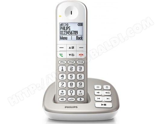 Téléphone sans fil PHILIPS XL4951S/FR