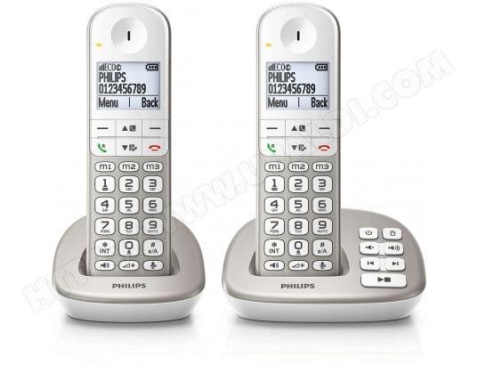 Téléphone sans fil PHILIPS XL4952S/FR