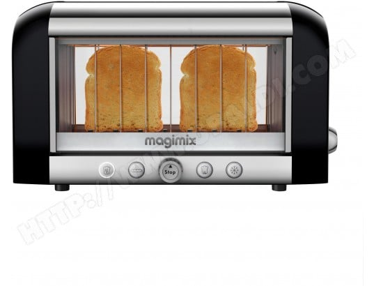 Grille pain MAGIMIX 11541 Toaster Vision noir
