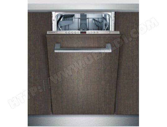 Lave vaisselle tout integrable 45 cm SIEMENS SR65N031EU
