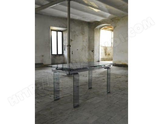 80 salle Glass Table de verre DOMINO à 160240 x manger doexCB