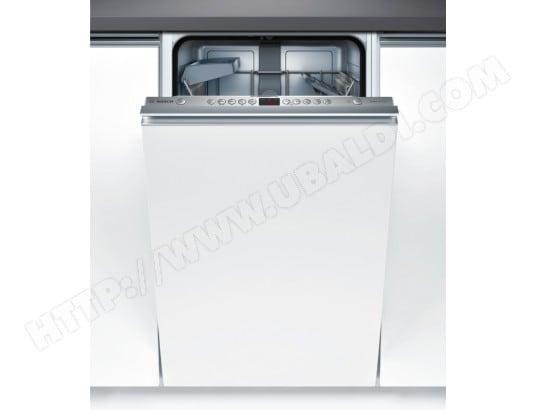 Lave vaisselle tout integrable 45 cm BOSCH SPV53N00EU