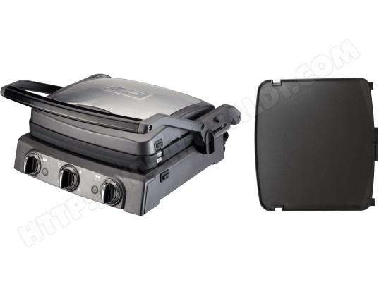 Barbecue électrique CUISINART GR50E + Plaque plancha GR051E