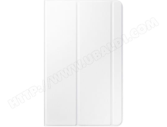 Etui tablette SAMSUNG Book Cover blanc pour Tab E