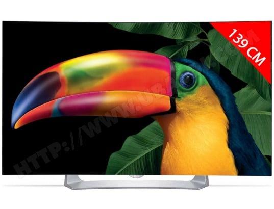 TV OLED Full HD incurvé 3D 139 cm LG 55EG910V