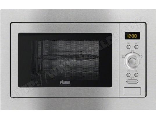 Faure fsg25224xa pas cher micro ondes grill encastrable faure livraison gratuite - Plaque grill encastrable ...