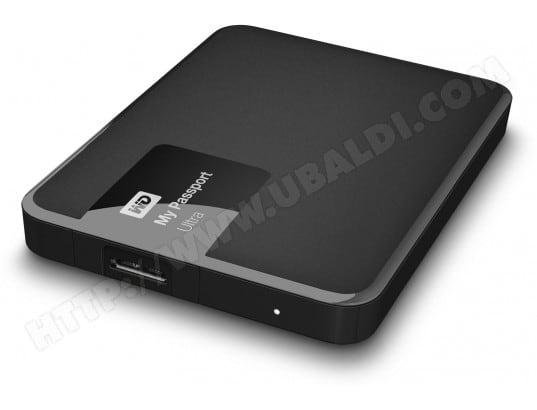 Disque dur externe WESTERN DIGITAL My Passport Ultra USB 3.0 - 1To noir