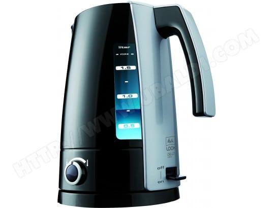 Bouilloire MELITTA H203-020304 Look Aqua Vario Noir Argent