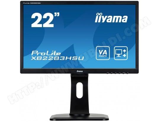 iiyama prolite xb2283hsu b1dp ecran 22 pouces full hd pas cher. Black Bedroom Furniture Sets. Home Design Ideas