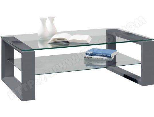table basse ub design table basse gris anthracite 2073303701 pas cher. Black Bedroom Furniture Sets. Home Design Ideas