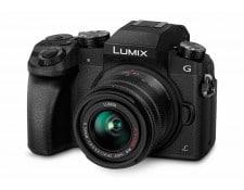 Appareil photo Hybride PANASONIC Lumix DMC-G7KEF-K + 14-42 mm