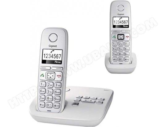 Téléphone sans fil SIEMENS GIGASET E310A Duo Comfort