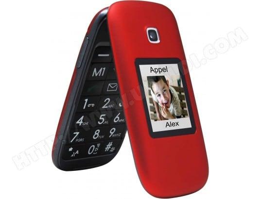 Mobile nu TELEFUNKEN TM 260 Cosi rouge