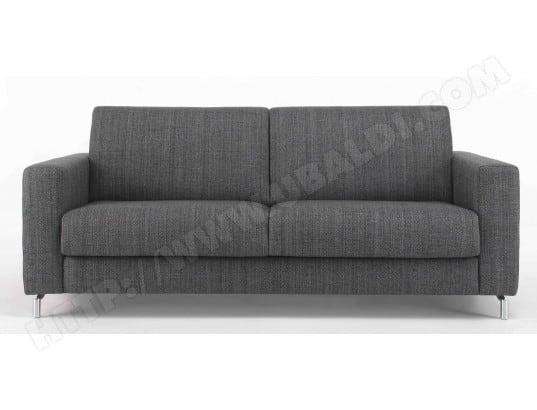 canap lit alterego divani step 3 pl anthracite matelas 160 35kg m3 pas cher. Black Bedroom Furniture Sets. Home Design Ideas